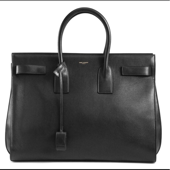 c2ae12b76ff8 Saint Laurent Sac De Jour Medium Leather Tote NEW